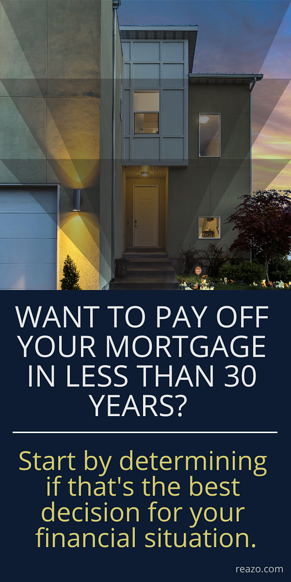 Reazo-  Pay Off Mortgage