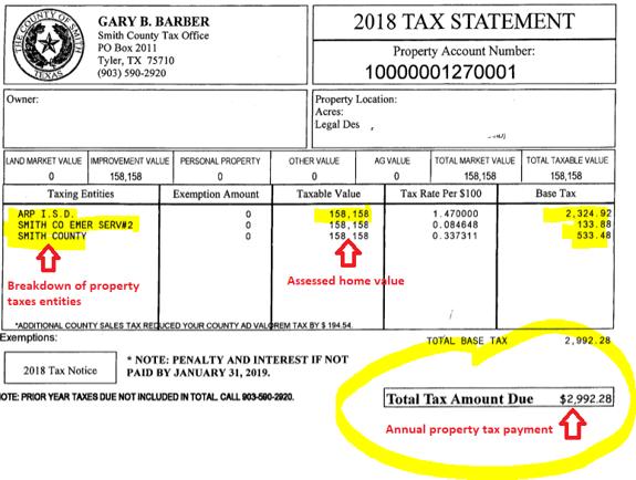 Tax bill snippet